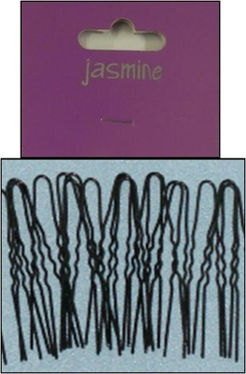 Picture of £1.00 JASMINE BLACK HAIRPINS 36 LONG(6)