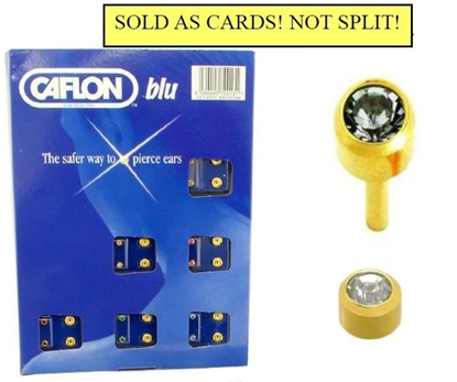 Picture of £1.00 CAFLON BLU MINI CRYSTAL STUDS (12)