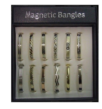 Picture of £6.99 MAGNETIC BANGLES IN DISPLAY (12)