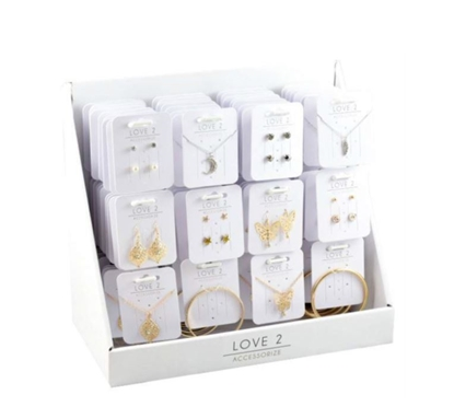 Picture of £1.49 LOVE 2 COUNTER JEWELLERY STAND(72)