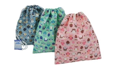 Picture of £1.49 OWL DRAWSTRING BAGS