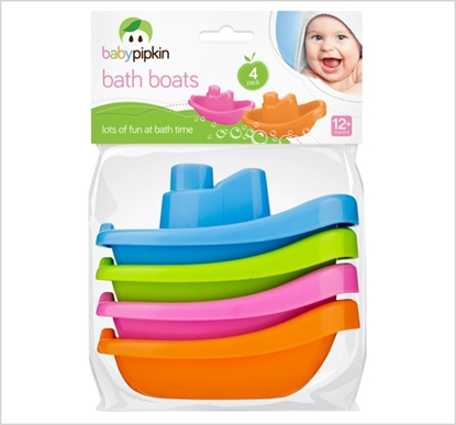 Picture of £1.79 BABY PIPKIN FLOATING BOATS x4 (24)