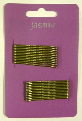 Picture of £1.00 JASMINE HAIR GRIPS BLONDE (6)