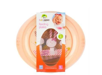 Picture of £1.99 BABY PIPKIN 2 FEEDING PLATE