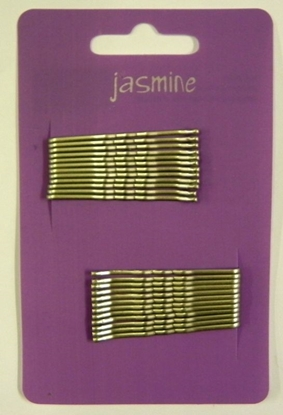 Picture of £1.00 JASMINE HAIR GRIPS 24 GREY (6)