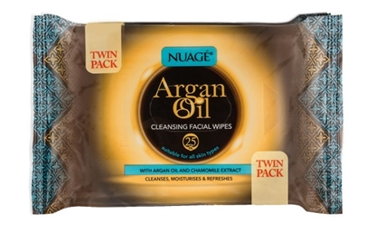Picture of £1.00 ARGAN FACIAL WIPES (12) 88556
