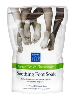 Picture of £1.00 ESCENTI FOOT SOAK GREEN TEA (12)