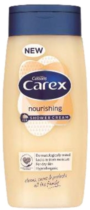 Picture of £1.00 CAREX S/GEL 250ml NOURISH (6)