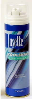 Picture of £1.00 INSETTE MENS SHAVE FOAM 250ML