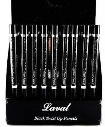 Picture of £1.49 LAVAL EYE PENCIL BLACK W-PROOF