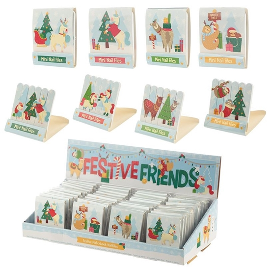 Picture of £0.79 NAIL FILES FESTIVE (48) XNAIL05