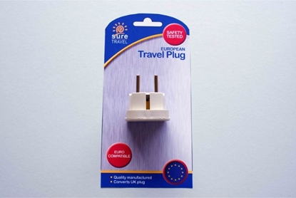 Picture of £1.99 TRAVEL ADAPTOR EUROPE (6)