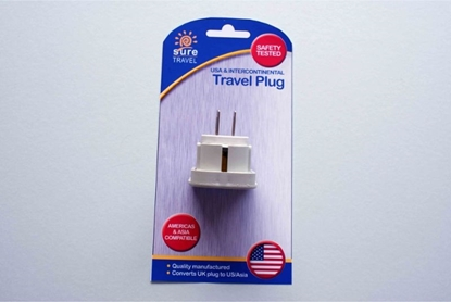 Picture of £1.99 TRAVEL ADAPTOR USA
