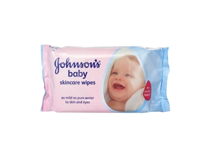 Picture of £1.00 JOHNSONS BABY WIPES 56's (12)