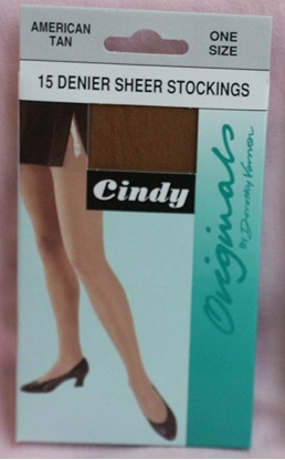 Picture of £1.29 BLACK STOCKINGS 15 DEN. (12)