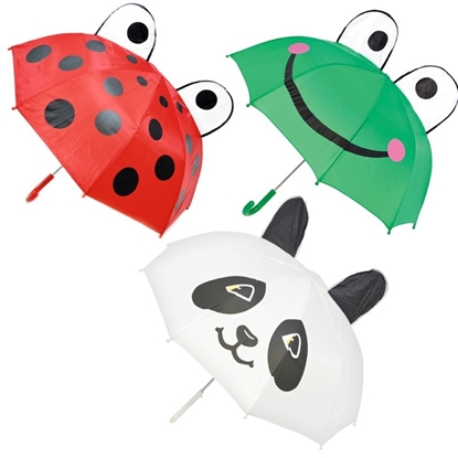 Picture of £4.99 KIDS ANIMAL UMBRELLAS (12)