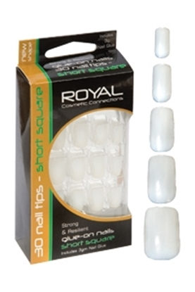 Picture of £1.79 ROYAL NAIL TIPS AND GLUE (12) SS