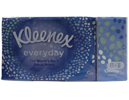 Picture of £1.00 KLEENEX POCKET TISSUES 8 PACK