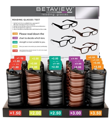 Picture of £4.99 BETAVIEW READING GLASS UNIT (25)