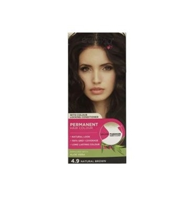 Picture of £1.00 DERMA HAIR COL. NATURAL BROWN 4.9