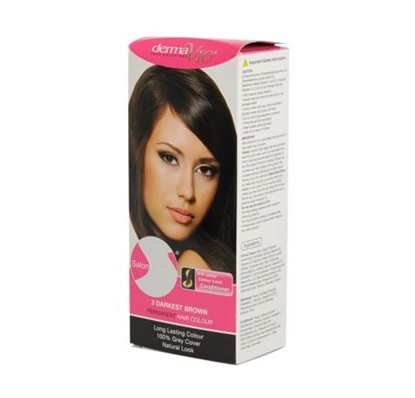 Picture of £1.00 DERMA HAIR COL. NATURAL DARK BRN 4