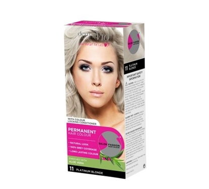 Picture of £1.00 DERMA HAIR COL. PLATINUM BLONDE 11