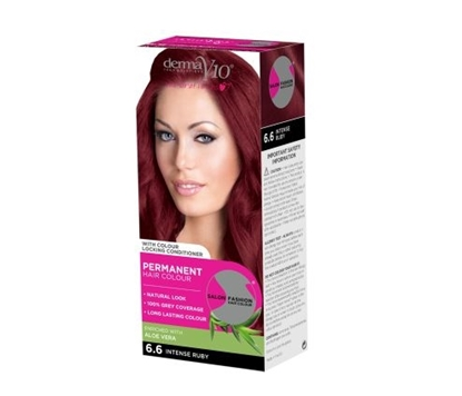 Picture of £1.00 DERMA HAIR COL INTENSE RUBY 6.6