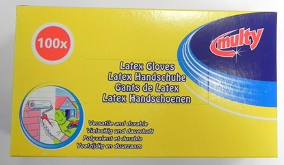 Picture of £7.99 DISP LATEX GLOVES BOX OF 100