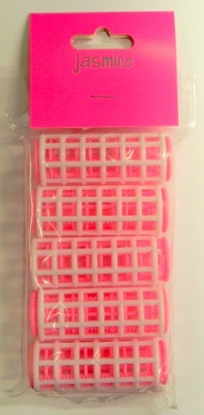 Picture of £1.49 JASMINE CLIP ROLLERS PINK MED (6)