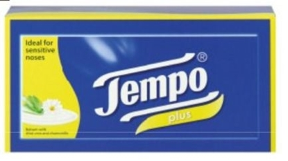 Picture of £1.00 TEMPO SOFT & SENSITIVE TISSUES