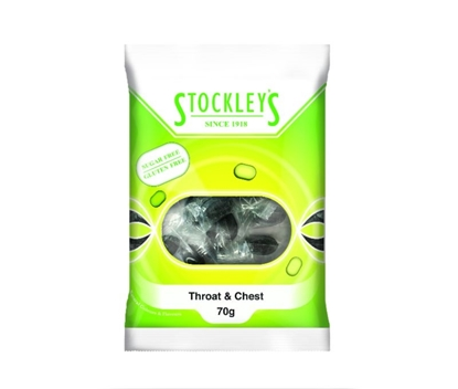 Picture of £1.00 THROAT & CHEST SUGAR FREE