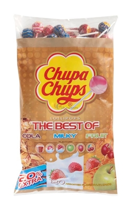 Picture of £0.20 CHUPA CHUPS REFILL PACK BEST (120