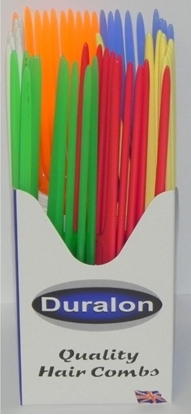 Picture of £0.49 PLASTIC TAIL COMBS BOXED (48)