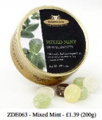 Picture of £1.69 TRAVEL SWEET 200g TINS MIX MINT(6)