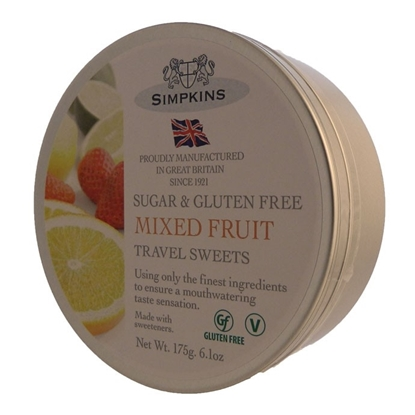Picture of £1.99 TRAVEL SWEET 175g TINS SUG.FREE(6)