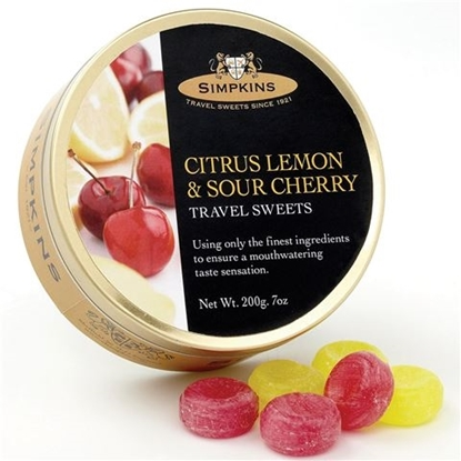 Picture of £1.69 TRAVEL SWEET 200g TIN CITRUS LEM(6