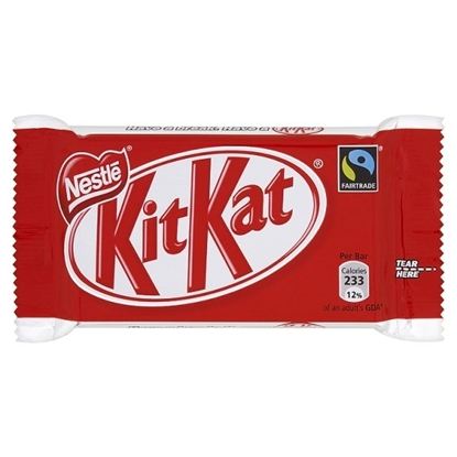 Picture of £0.60 KIT KAT CHOCOLATE BARS 48g (24)