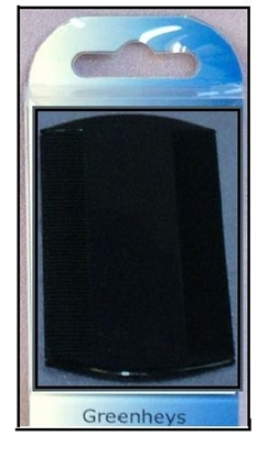 Picture of £0.39 CAVALIER PLASTIC NIT COMB BLACK (6