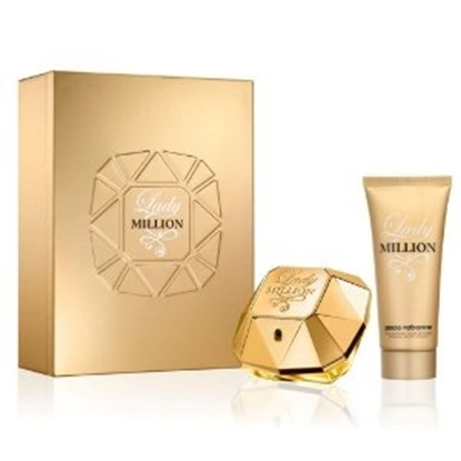 Picture of £67.50/62.00 LADY MILLION EDP SPRAY 50ML