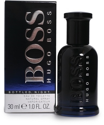 Picture of £45.00/39.00 BOSS BOTTLED NIGHT MAN EDT