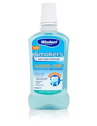 Picture of £1.49 WISDOM 500ml SMOKERS M/WASH (6/8)