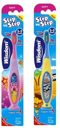 Picture of £1.00 WISDOM 3-5 YEARS TOOTHBRUSH