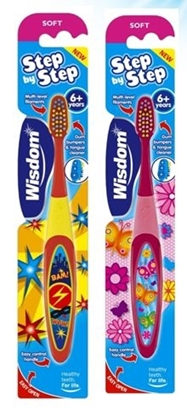 Picture of £1.00 WISDOM 6-8 YEARS TOOTHBRUSH