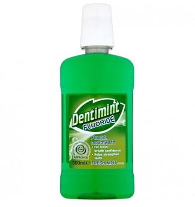 Picture of £1.00 DENTIMINT 500ML MOUTHWASH (6)