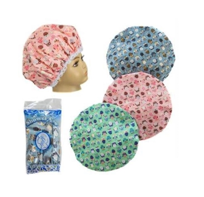 Picture of £2.49 SHOWER CAPS OWL BAGGED (12)