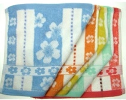 Picture of £0.79 FACECLOTHS FLOWERS (10)