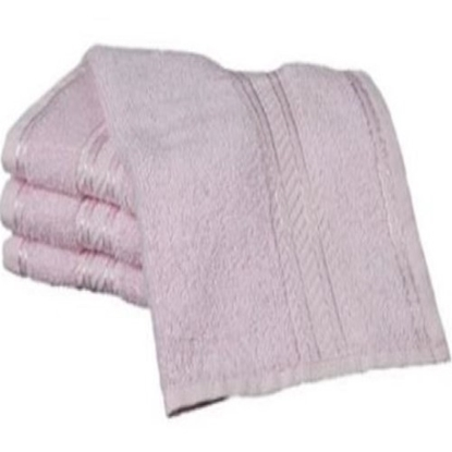 Picture of £0.99 FLANNELS COTTON PLAIN PINK