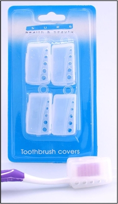 Picture of £0.99 TOOTHBRUSH COVER CAPS (12)