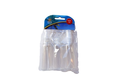 Picture of £1.49 TRAVEL BOTTLE SET 3 PIECE