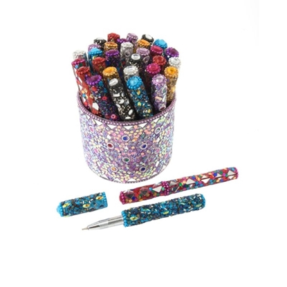 Picture of £1.00 JEWELLED PENS TUB (30)